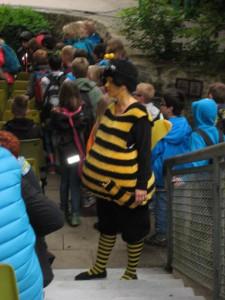 Waldwoche 2015 Besuch der Freilichtbühne (2)