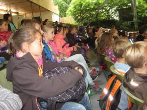 Waldwoche 2015 Besuch der Freilichtbühne (3)