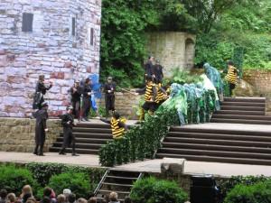 Waldwoche 2015 Besuch der Freilichtbühne (5)