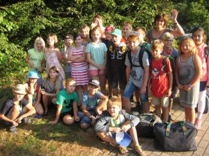 Nun geht es los - die Klassenfahrt der Klasse 4d nach Mardorf am Steinhuder Meer.