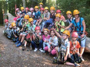 Viele Abenteuer warteten im Sea Tree Kletterpark auf uns.
