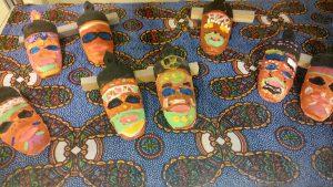 Die Kinder der 3. Klassen konnten aus den Projekten Masken, Fahrzeugbau aus Abfall, afrikanisch Kochen und Tanz wählen.